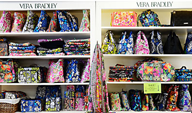 Betsy's Has A Great Selection of Vera Bradley at Our Glenstone, Sunshine and Campbell Locations!