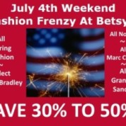Fourth Of July Fashion Frenzy Weekend!