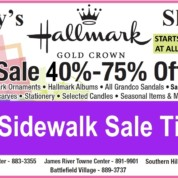Betsy's Annual Sidewalk Sale Is Now!